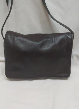 Женская сумочка кросс-боди натуральная кожа