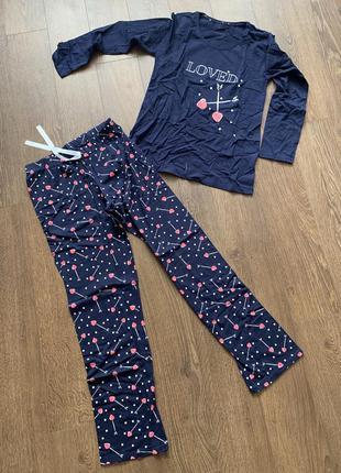 Sale🌺 піжама жіноча зі штанами, пижама женская с брюками турция хлопок