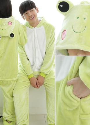 Пижама кигуруми  лягушонок