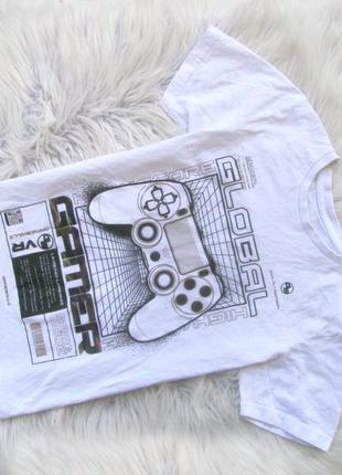 Стильная футболка gamer  global