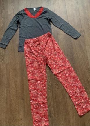 Sale🌺 піжама зі штанами, пижама женская хлопок турция