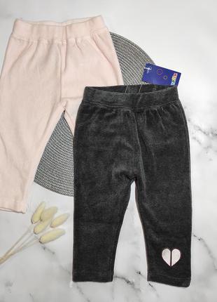 Велюрові штани для дівчинки