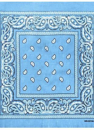 Голубая бандана