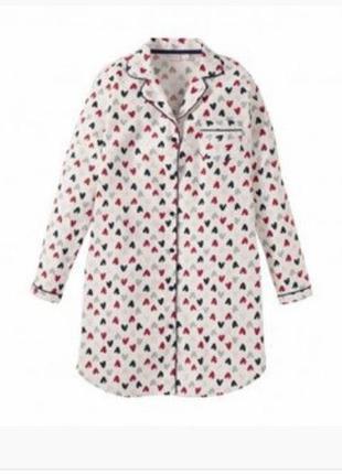 Фланелевая рубашка- платье, германия ( евро 44-46)