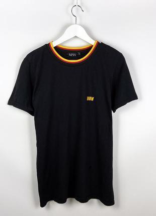 Man футболка с огненным лого