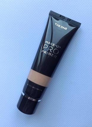 Придающий сияние праймер для лица oriflame the one make-up pro 30 мл.