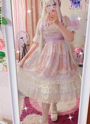 Платье в стиле лолита аниме косплей