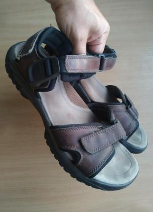 Мужские кожаные сандалии clarks active air, оригинал!