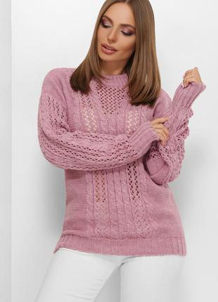 Вязанный свитер оверсайз