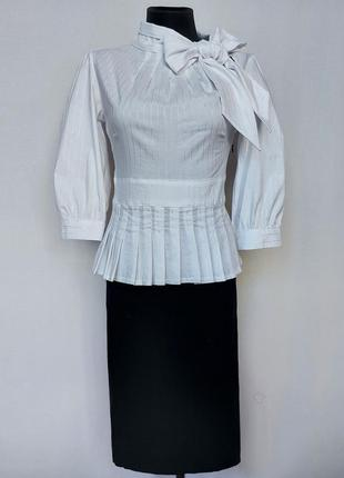 Суперцена. стильное платье, черно-белый дуэт. турция. новое, р-ры 42-46