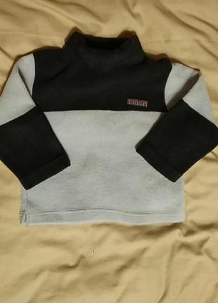 Детский теплый свитшот, худи, свитер, кофта на флисе