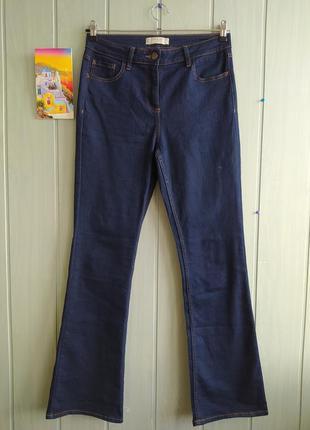 Стрейчевое джинсы на высокой посадке размера 12uk