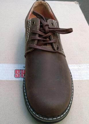 Распродажа остатков 44 affinity мужские туфли кожа crazy horse