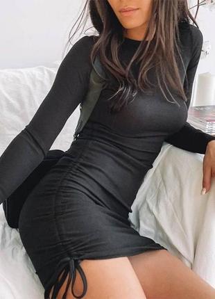 Трендовые  платья с затяжками🔥