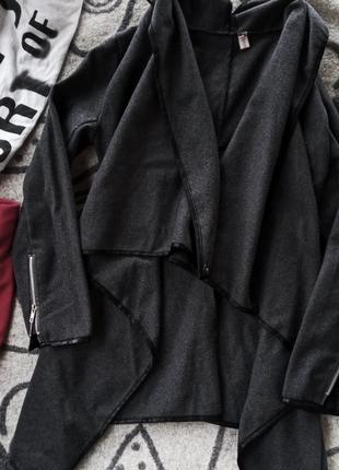 Кардиган польто пиджак без подкладки