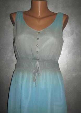 Lakeland красивое шифоновое платье сарафан в идеале