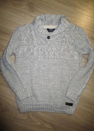 Теплый свитер на 9-11лет