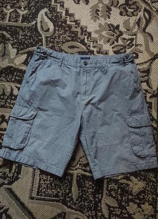 Фірмові англійські котонові шорти lincoln, розмір 42анг.