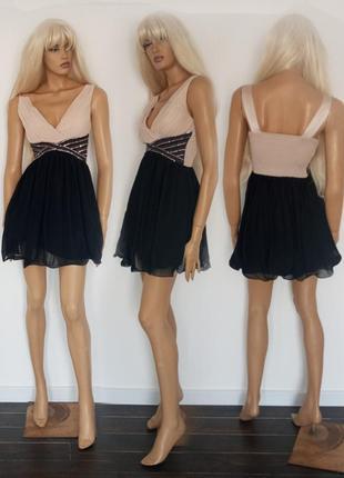 Симпатичное коктельное платье. new look. размер s.