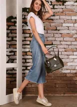 Женская сумка оливковая. жіноча сумка оливкова