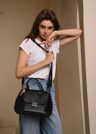 Жіноча сумка (чорна). женская сумка черная