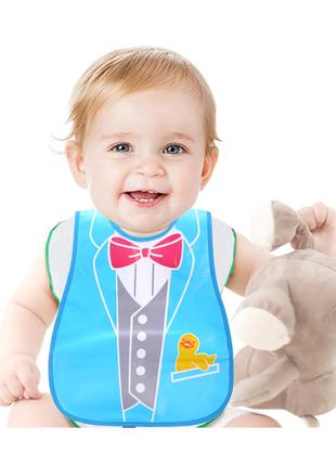 Нагрудник детский слюнявчик новорожденному супер качество мальчику