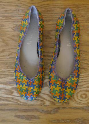 Туфлі шкіряні розмір 38 стелька 24,8 см madeleine