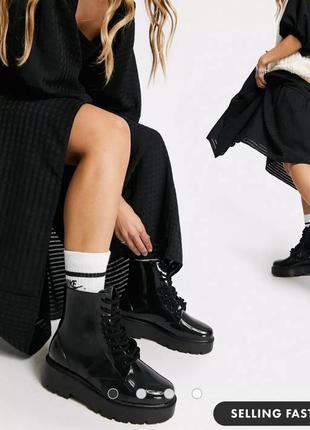 Резиновые ботинки asos