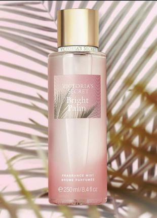 Bright palm victoria's secret мист для тела, спрей, виктория сикрет косметика, парфуми