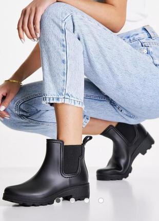 Резиновые ботинки london rebel