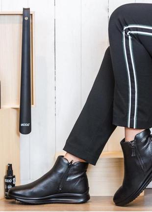Зимние женские ботинки ecco aquet