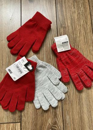 Перчатки на девушку