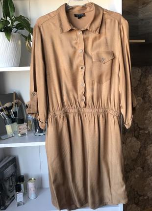 Сукня жіноча типу рубашки на резинці top shop