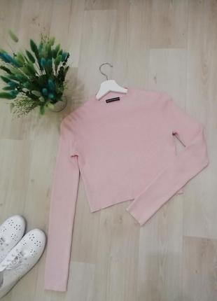 Кофта свитер в рубчик
