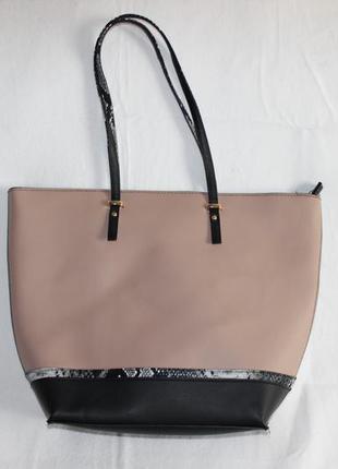 Стильная сумка шоппер atmosphere