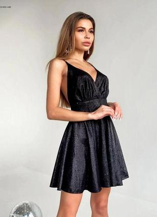 Блестяще платье из люрекса