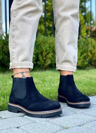 Короткие ботиночки челси