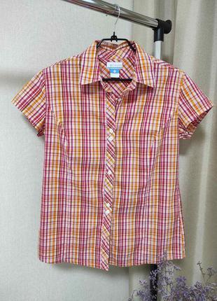 Женская хлопковая рубашка columbia