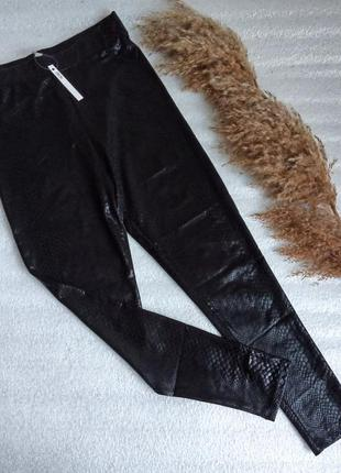 ✨нові , стильні , актуальні лосіни , легінси висока талія , тонкі штанці зміїний принт ✨