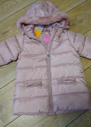 Зимова куртка для дівчаток