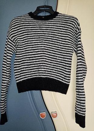 Теплий шерстяний светр