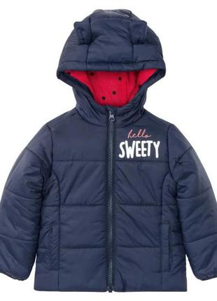 Демисезонная куртка на девочку lupilu германия