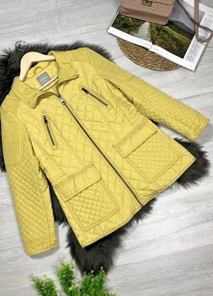 Стеганая демисезонная куртка