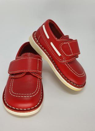 🔥lux 🔥new🔥 кожаные туфли, ботинки. испания. 13,5 см. 22 размер