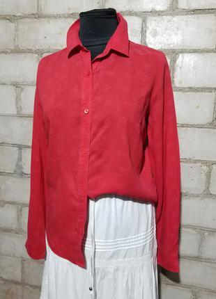 Рубашка с тиснением на ткани лиоцелл 100%