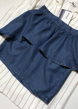 Новая джинсовая юбка stradivarius джинсова спідниця