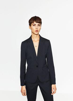 Стильный классический пиджак zara