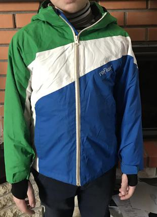 Лыжная термо куртка зимняя reflex (норвегия) зима-осень