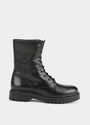 Оригінальні  жіночі шкіряні черевики geox  (d16qdf-00043-c9999)