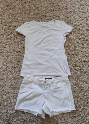 Шорти + футболка jessica simpson